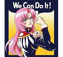 Utena Can Do It! Photographic Print