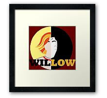 The Many Faces Of Willow Framed Print