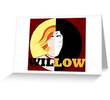 The Many Faces Of Willow Greeting Card