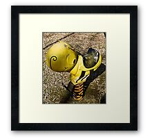 lil' bee Framed Print