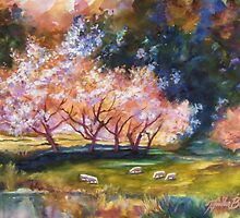 """Under the Blossom Trees"" by T.Fowler Bailey by tfowlerbailey"