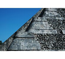 Temple of Kukulcan 2-Chichen Itza-Mexico Photographic Print