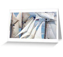 Simply Sails Greeting Card