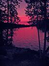 Lake sunset by schizomania