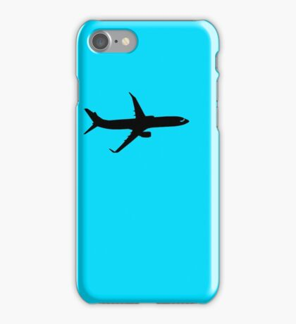 Shark Silhouette Aircraft iPhone Case/Skin