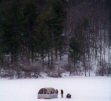 Ice Fishing by Dandelion Dilluvio