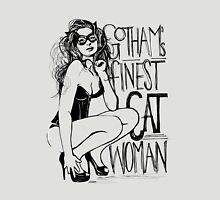 Gotham's Finest Catwoman- inverse Unisex T-Shirt