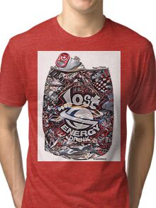 Psychedelic Poster Tri-blend T-Shirt