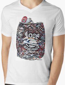 Psychedelic Poster Mens V-Neck T-Shirt