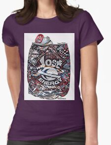 Psychedelic Poster Womens Fitted T-Shirt