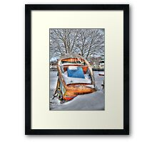 Bowler or Boater? Framed Print