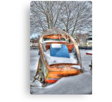 Bowler or Boater? Canvas Print