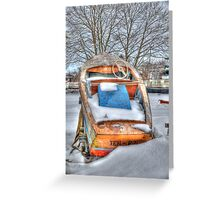Bowler or Boater? Greeting Card