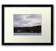 Winter Skies Framed Print