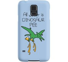 All Water Is Dinosaur Pee (Pterodactyl) Samsung Galaxy Case/Skin