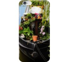 Houseboat horticulture iPhone Case/Skin