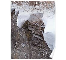 Blanketed in Snow Poster