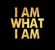 I am what I am lyric - John Barrowman (BLACK) by Daniel Bonney