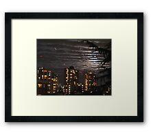 Gold Medal Sky Framed Print