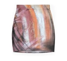 Abstract Desert Sunset Mini Skirt