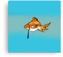 Formal Fish Canvas Print
