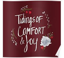 Tidings of Comfort & Joy Poster