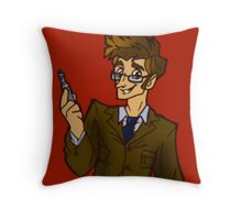Allons-y! (Without Caption) Throw Pillow