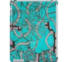 Aqua Tennis art iPad Case/Skin