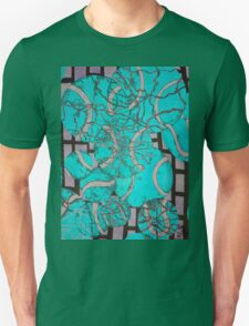 Aqua Tennis art Unisex T-Shirt