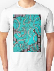 Aqua Tennis art Unisex T-Shirt