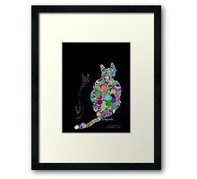 CALICO CAT Framed Print