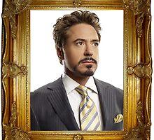 Tony Stark Portrait by ssmith3