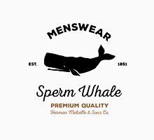 Sperm Whale menswear Unisex T-Shirt
