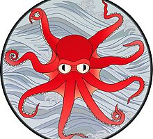 Octopus Red by mstiv