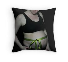 Mama Loves You Throw Pillow
