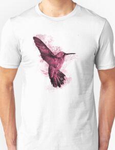 Pink Hummingbird Unisex T-Shirt
