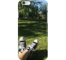 Chill in Park iPhone Case/Skin