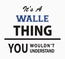 Its a WALLE thing, you wouldn't understand by thinging