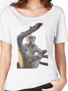Too Laid Back – Adult Male Baboon Women's Relaxed Fit T-Shirt