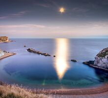 Man-O'War Cove, Dorset by Jonathan Stacey