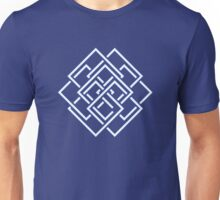Square Earth Flag Unisex T-Shirt