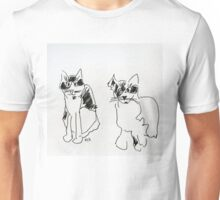 Sketched Cats 2 Unisex T-Shirt