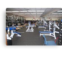 Weight Room Metal Print