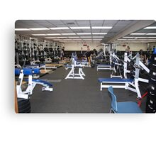 Weight Room Canvas Print