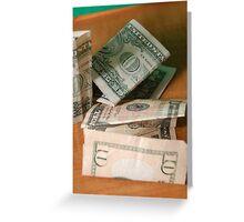 US Debt Greeting Card