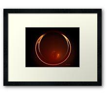 Heat Framed Print