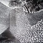 Exterior & Interior Walls of the Great Enclosure - Great Zimbabwe by Katie Grubb