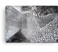 Exterior & Interior Walls of the Great Enclosure - Great Zimbabwe Metal Print