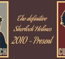 The Definitive Holmes BC - Rustic (Card) Sticker