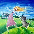 The cat dance by Ira Mitchell-Kirk